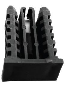 18mm Integra Edge Key Black