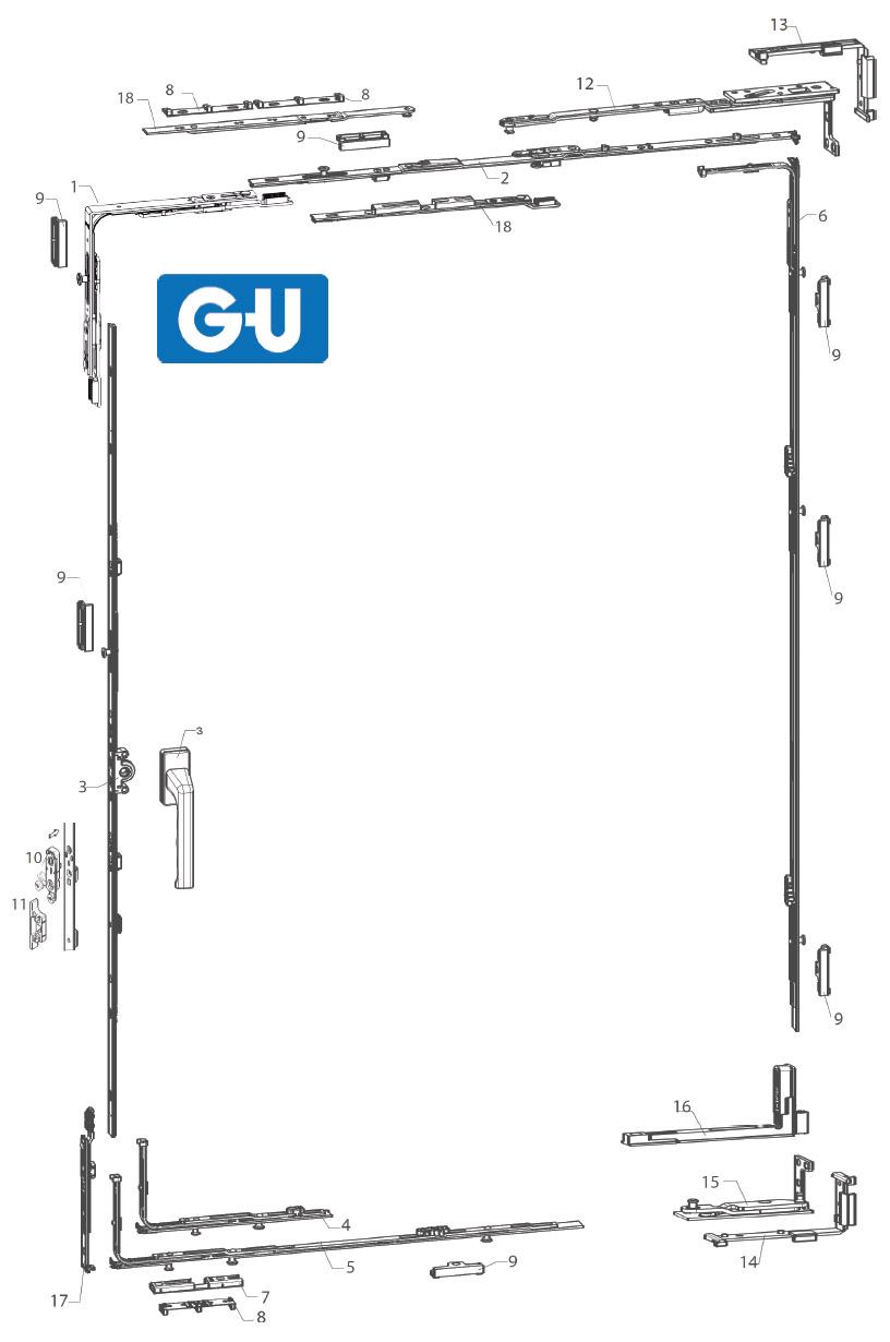 GU Concealed Diagram