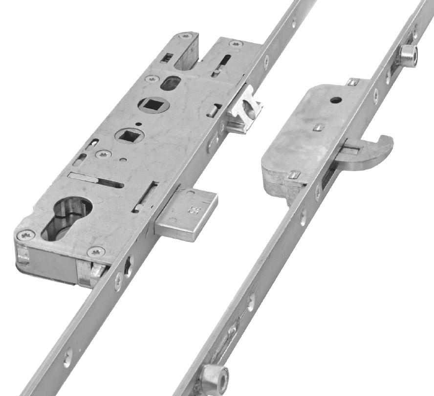 Elite Security Door Lock 2 Hook 4 Roller