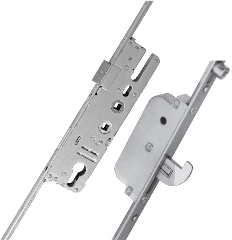 Elite 2 Piece Security French Door Lock