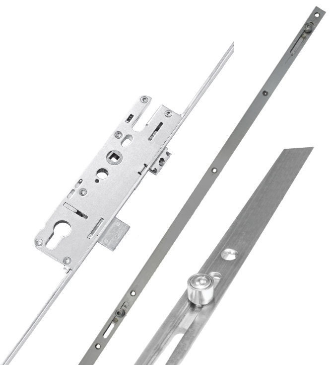 Elite Compact 4 Roller Non Extendable Lock
