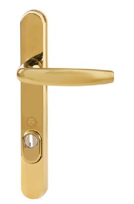Hoppe Atlanta PAS 24 Polished Brass (F77)