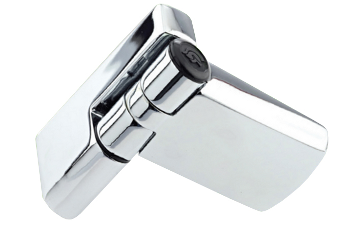Patriot Plus Hinge - Chrome Finish