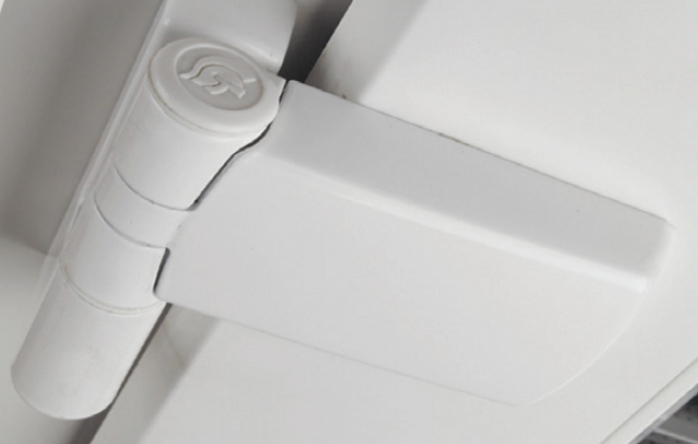 Patriot Plus Hinge - White Finish