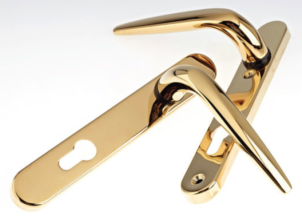 Stainless Steel Handle - Gold Finish