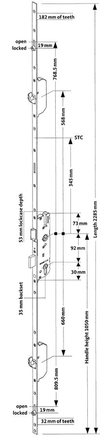 Rhino 2H 2R Technical Diagram