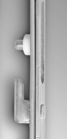 Integrated Anti lift Pin and Bumper