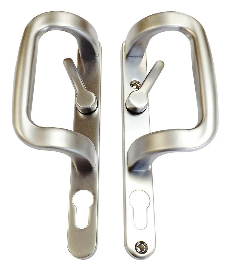 Inline Patio - Satin Silver Handle