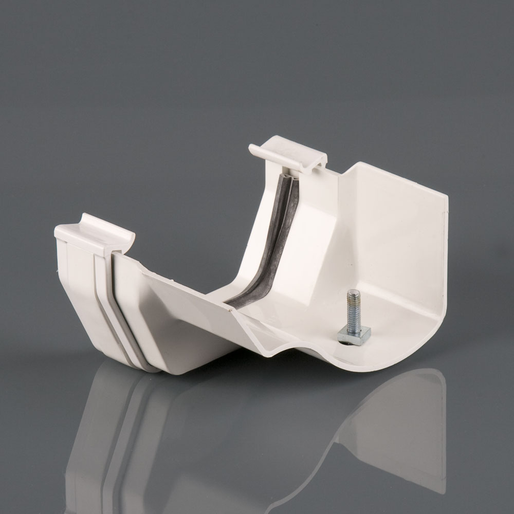 114mm Squarestyle to Ogee Adaptor Right Hand