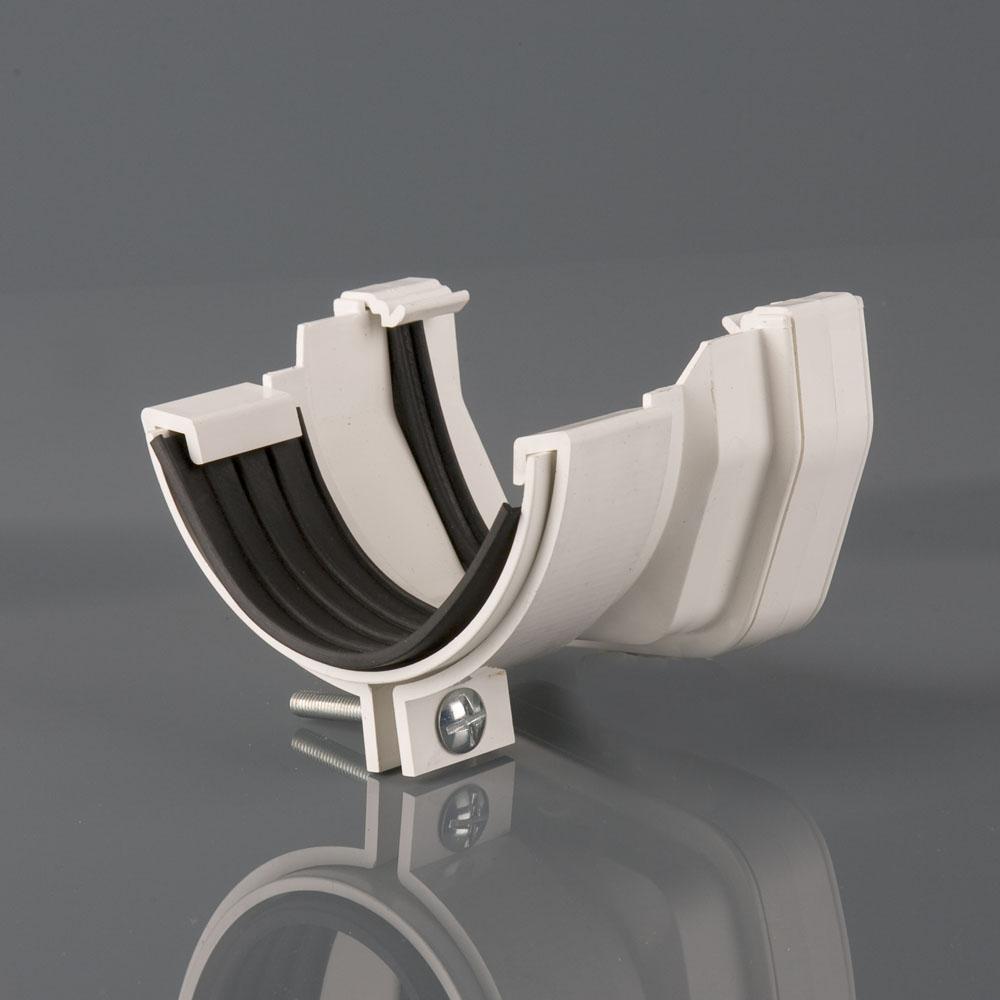 Squarestyle to Half Round Gutter Adaptor