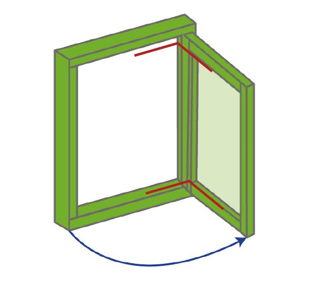 Side Hung Diagram