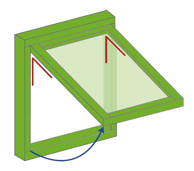 Top Hung Diagram
