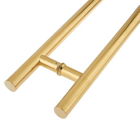 Heavy Gauge Pull Handles PVD Brass