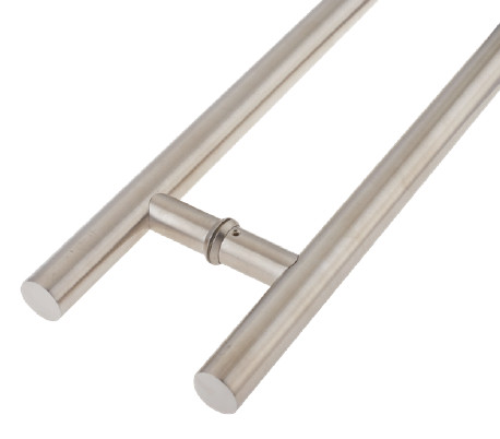 Heavy Gauge Pull Handles Satin Stainless