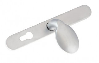 Lever Pad Suited Satin Silver Handles