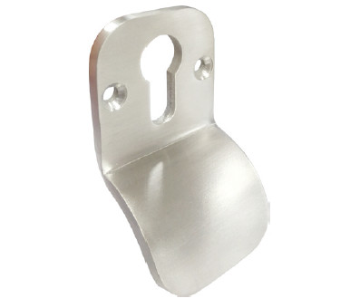 Polished Stainless Steel Finger Pull Escutcheon
